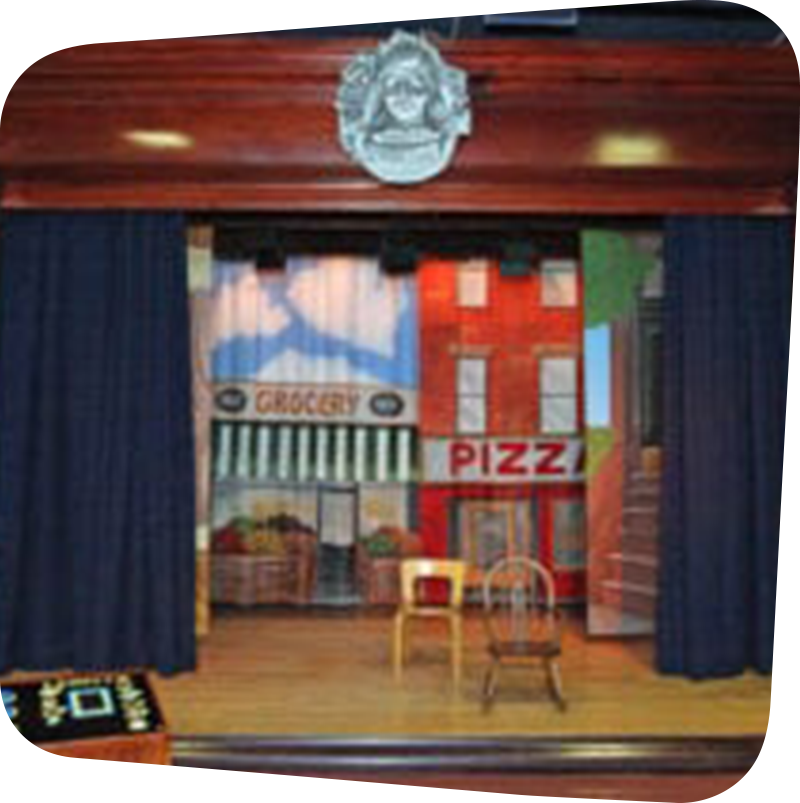 stage for performing arts