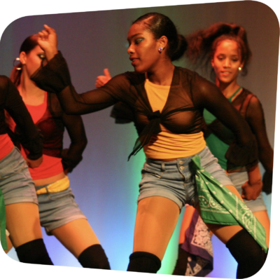 dancers moving